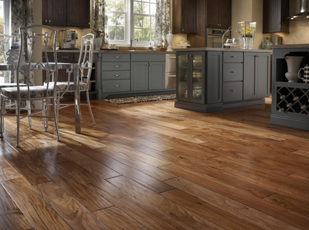 Hand Scraped Engineered Hardwood Flooring hickory grizzly Laying The Hardwood Floors And Finishing Them After Installation Helps Maintain The Woods Natural Characteristics As Well As Providing A Uniform And