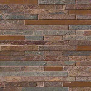 Wile Tile Glass Stone Metal